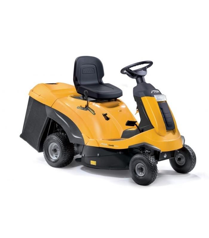 Autoportee discount stiga tondeuse tracteur de 72 cm de coupe - Tondeuse autoportee mulching ...