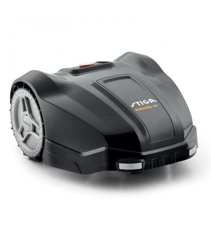 Robot tondeur autonome Stiga à batterie surface gazon 500m²