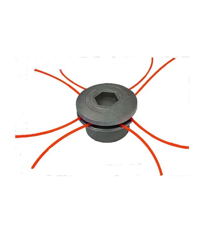 Tete debroussailleuse universelle  aluminium 8 fils
