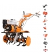 Motoculteur 7,5 Cv vitesses 2AV -1AR charrue butteur arracheuse pomme de terre roues agraires et métalliques Ruris 734k