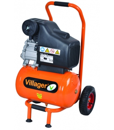 Compresseur d'air compact Villager VAT 16L