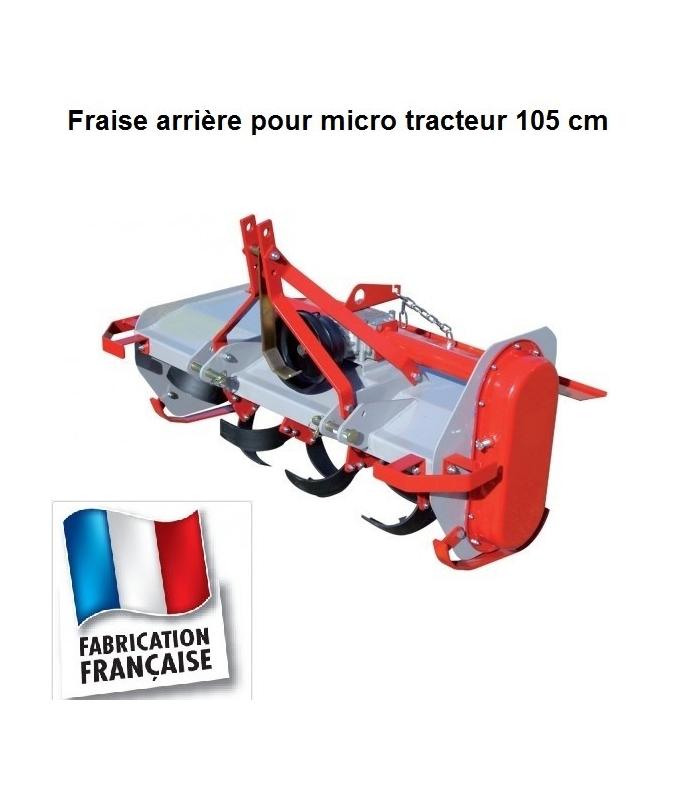 Fraise rotative pour micro tracteur 105 cm