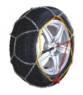 Chaine à neige pneu 165/70R12 montage rapide acier 9mm
