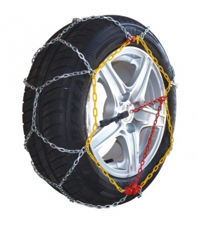 Chaine à neige pneu 165/60R13 montage rapide acier 9mm