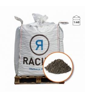 Terre végétale enrichie de compost RACINE plantation extérieure Big bag 1 m3