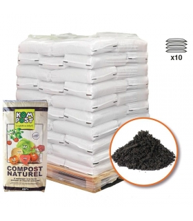 Compost vert amendement organique PRO 10 sacs 20 kg