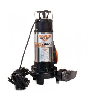 Pompe submersible 1300W avec flotteur débit 18m3/h décharge 12m stator cuivre Ruris Aqua 35