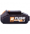 Batterie Lithium ion 18 volts 2Ah Villager Fuse
