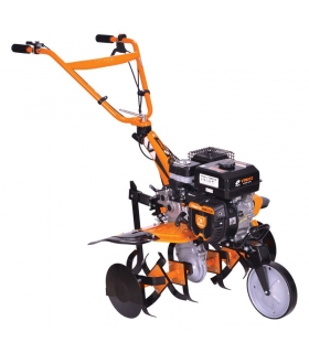 Motoculteur thermique 5,5 Cv vitesses 3 AV -1 AR largeur travail 85cm Villager VTB853