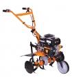 Motoculteur thermique 212cc 3 vitesses 2 AV -1 AR roues agraires disque protèges plantes Villager VTB852
