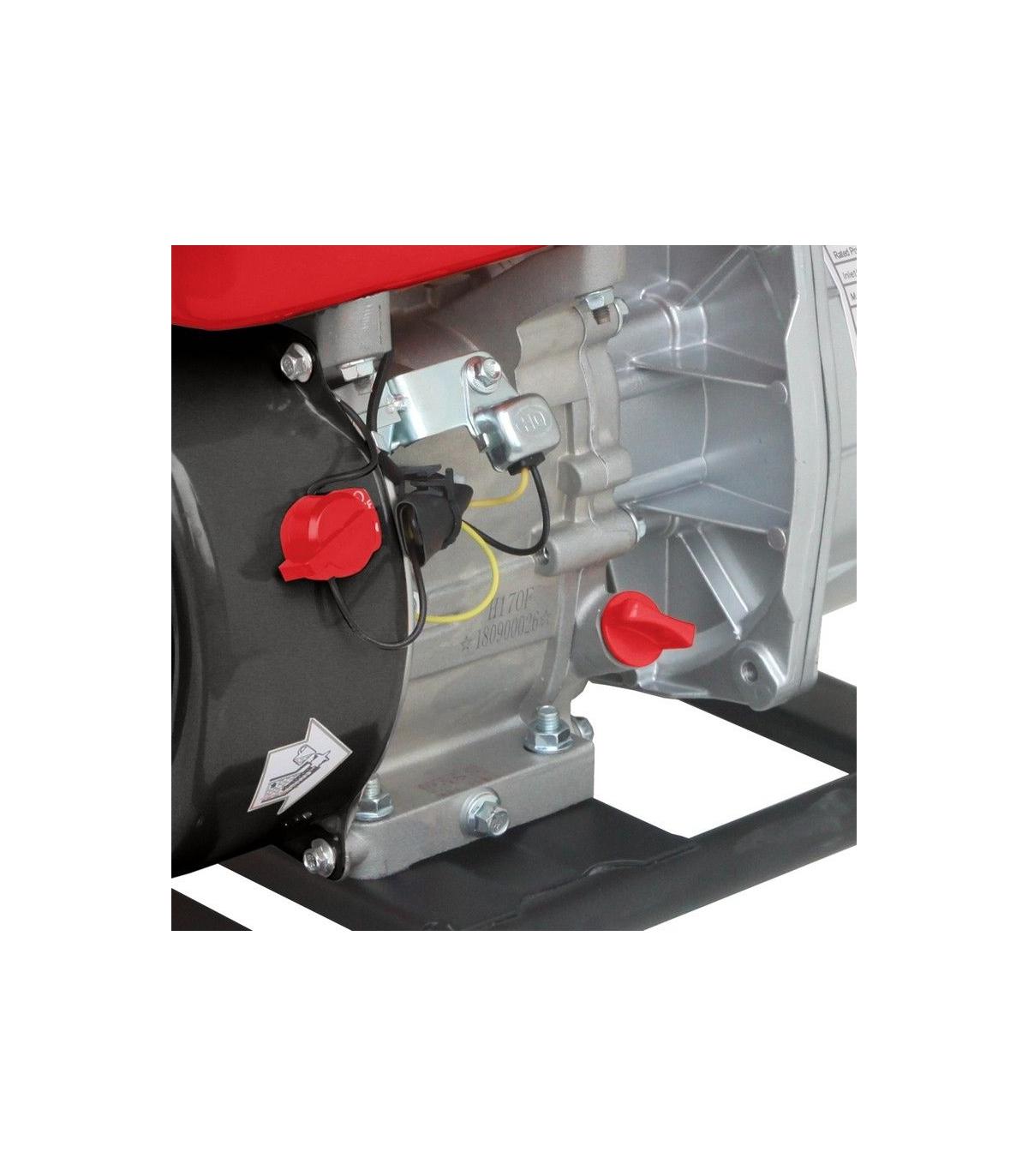 LEA Motopompe Thermique eaux charg/ées ou boueuses 5,6Cv 212cm3 d/ébit 66000 l//h LE71212-80D