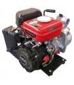 Pompe à eau thermique motopompe 4 temps 14000 l/heure LEA LE71079 79cm3 1,6cv