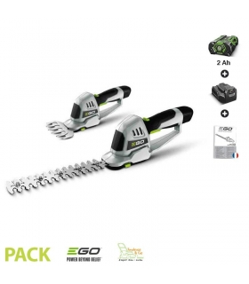 Taille herbe et haie lame 200 mm Egopower pack batterie et chargeur 2 Ah EGO POWER CHT2001E