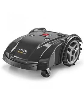 Tondeuse à gazon robot Stiga 1 batterie Lithium-ion 7,5 Ah pour terrain 2600m²