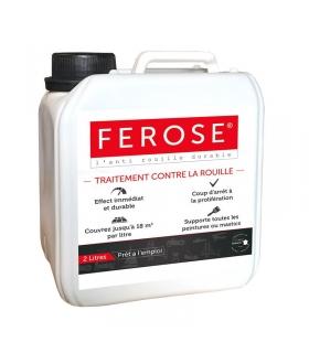 Traitement curatif anti rouille convertisseur de rouille Ferose - bidon 2 litres