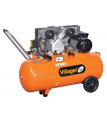 Compresseur d'air Bi-cylindre VAT VE 100L