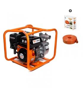 Pompe thermique pour eau Ruris 36 m3/h avec tuyau PVC 50x20m WP50