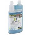 Antimousse concentré biodégradable professionnel 3T 1 litre à diluer pour traiter 200 m² de toit toiture mur et sol