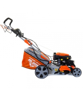 Tondeuse à gazon démarrage électrique 4,5 cv 173 cc coupe 46 cm Ruris RX331