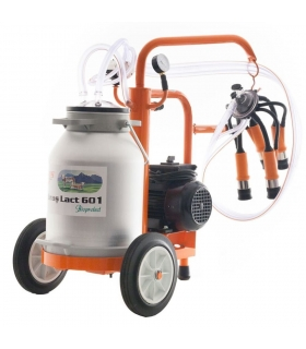 Machine à traire moteur électrique 550W cuve alu 30 litres Ruris Lact 601