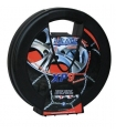 Chaine neige 9mm pneu 195/55R14 montage rapide sécurité garantie