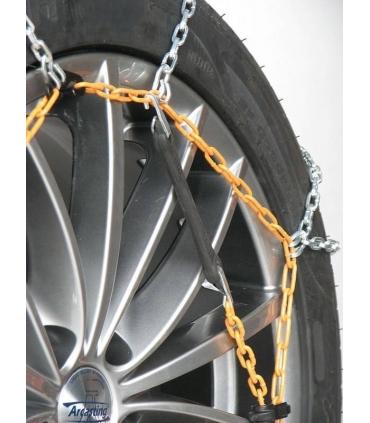 Chaines à neige acier haute résistance 9mm montage rapide 195//75R16