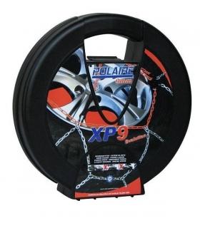 Chaine neige 9mm pneu 165/65R15 montage rapide sécurité garantie