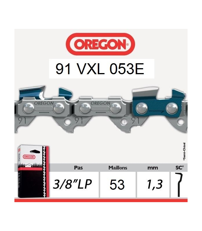 Chaîne Oregon 91VXL053E
